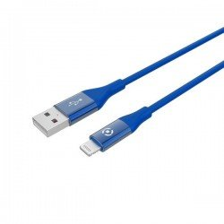 CABLE USB LIGHTING COLOR BL