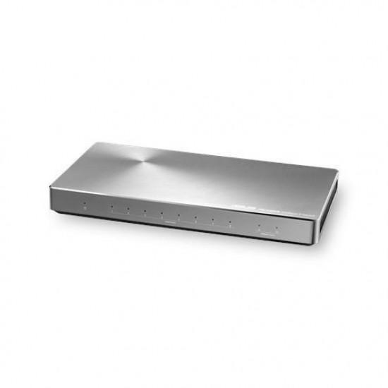 2-PORT 10GB   8-PORT GIGABIT SWITCH