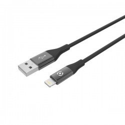 CABLE USB LIGHTING COLOR BK