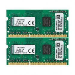 8GB 1333MHZ DDR3 SODIMM KIT OF 2